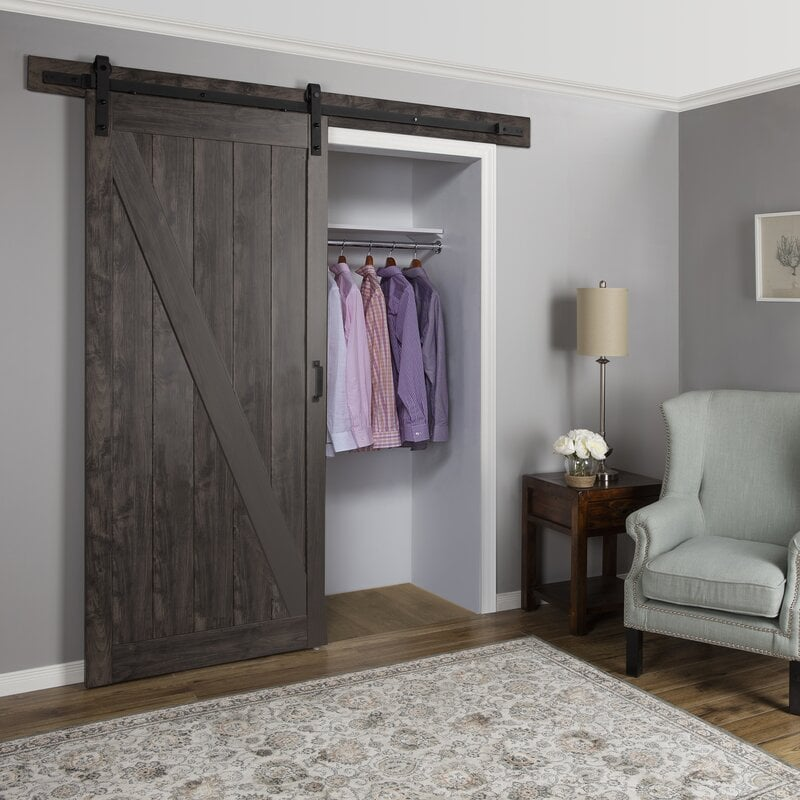 Opt For A Sliding Barn Door