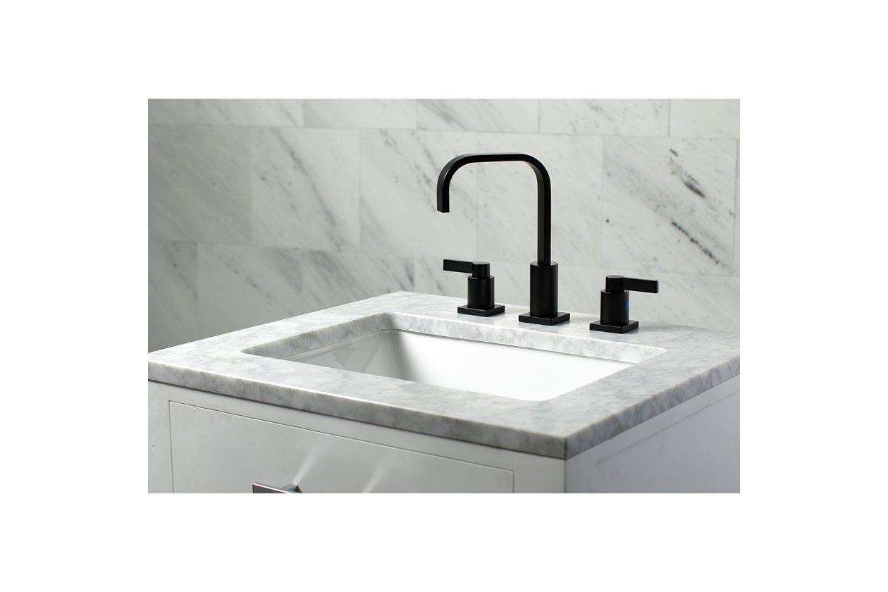 Go Modern With a High Arc Matte Black Faucet