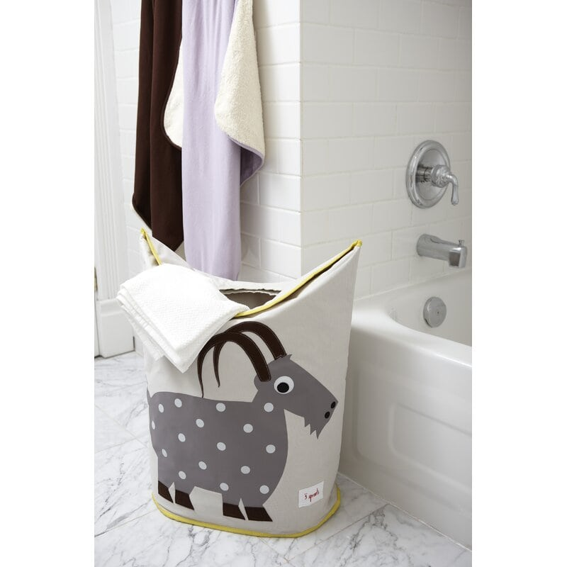 Set Up A Towel Hamper