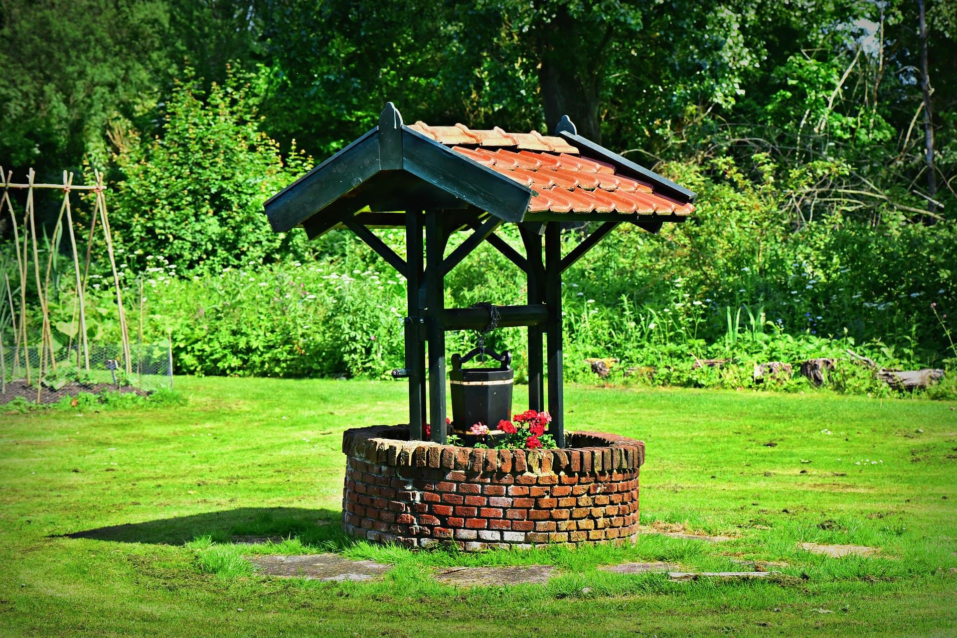 <strong>Build in a Beautiful Wishing Well</strong>