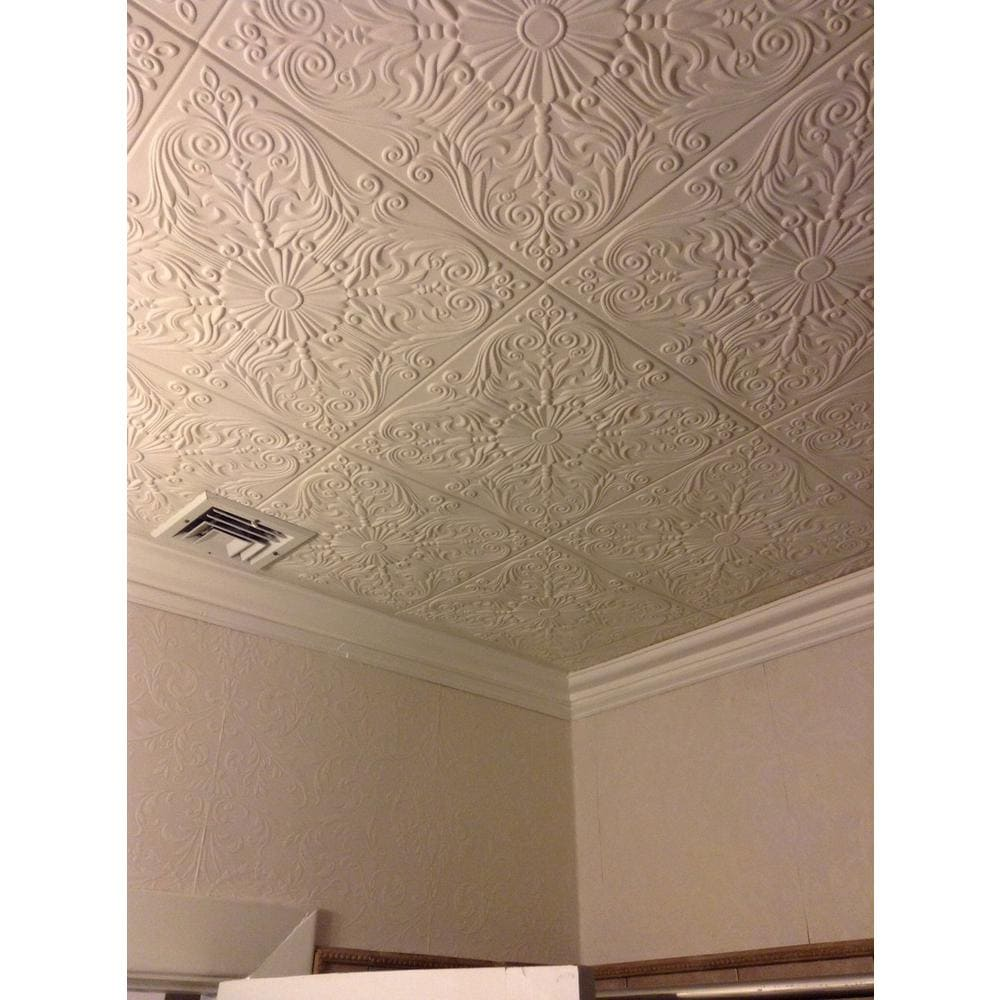 Install Styrofoam Ceiling Tiles on Your Own