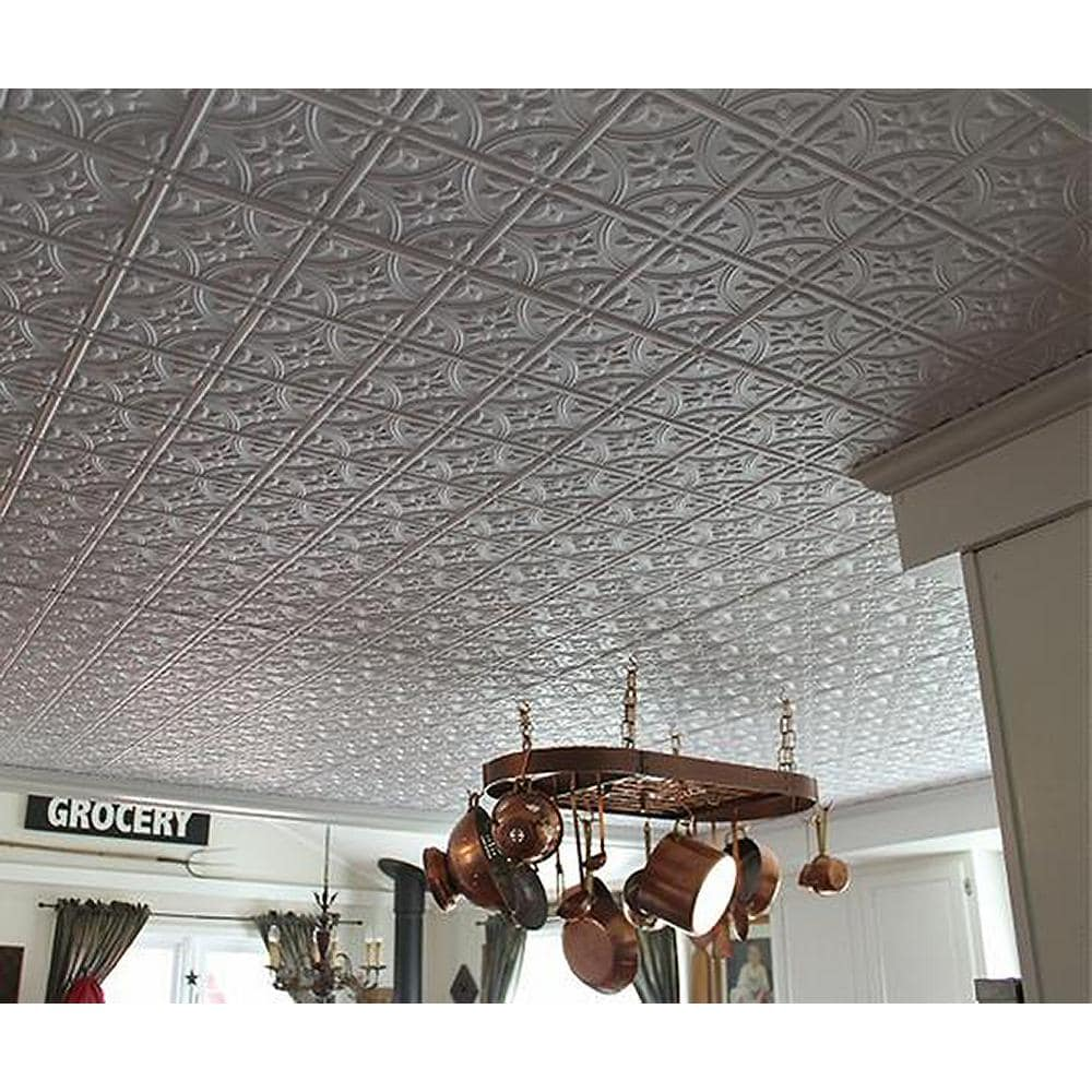<strong>Install Old-Timer Style Tin Ceiling Tiles</strong>