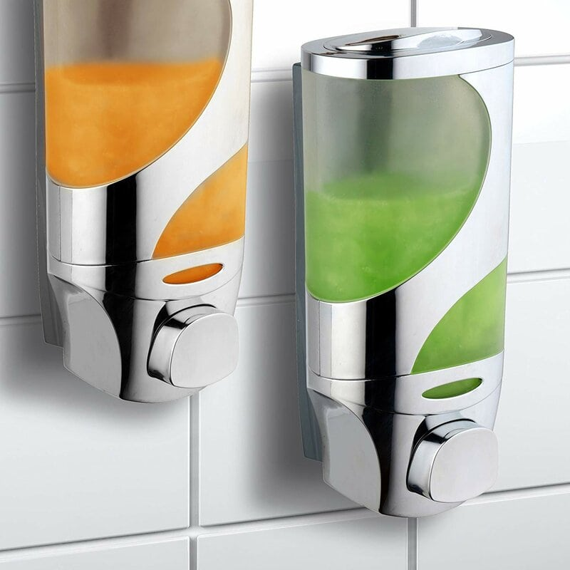 Mess-Free Shampoo and Soap Dispensers