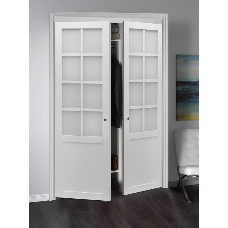 Opt For Frosted Windowed Doors