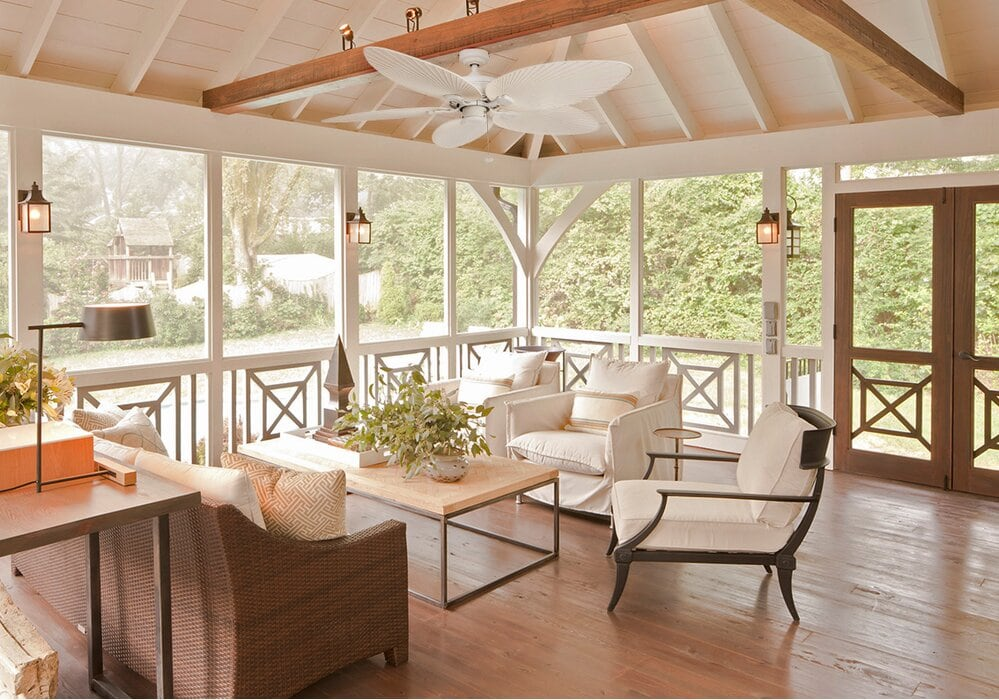 26 Beautiful Screened-In Porch Ideas that You Will Love