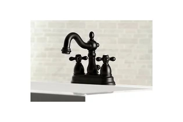 Look for a Centerset Faucet for a Classic Feel