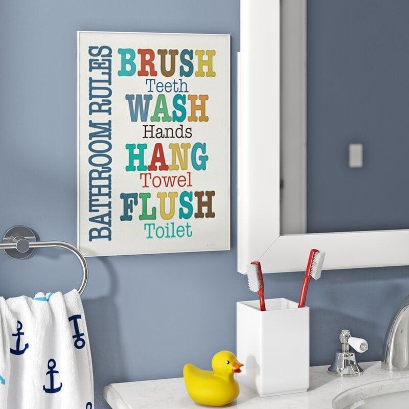 Creative Ideas For Kids Bathroom, Boy And Girl Bathroom Themes