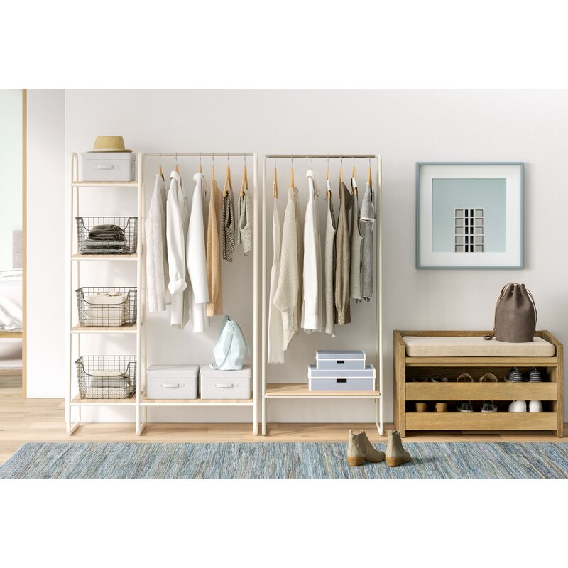 Put Your Clothes on Display with a Garment Rack