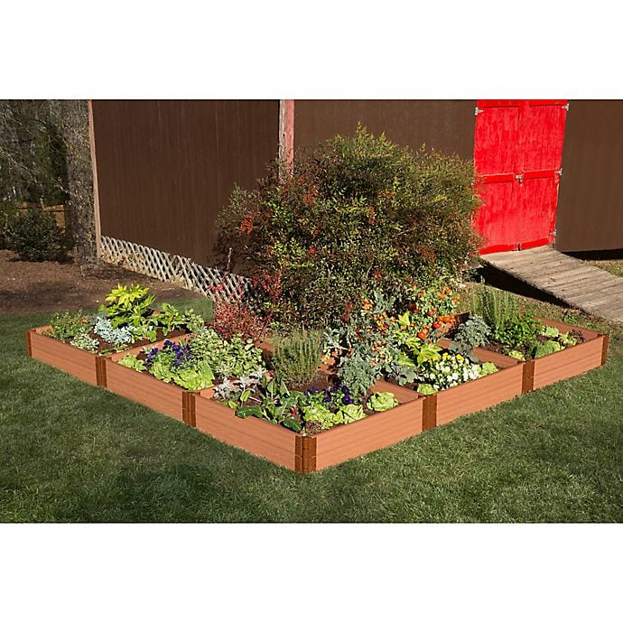 <strong>8 - Grow Flowers and Veggies in a Raised Planter Bed</strong>