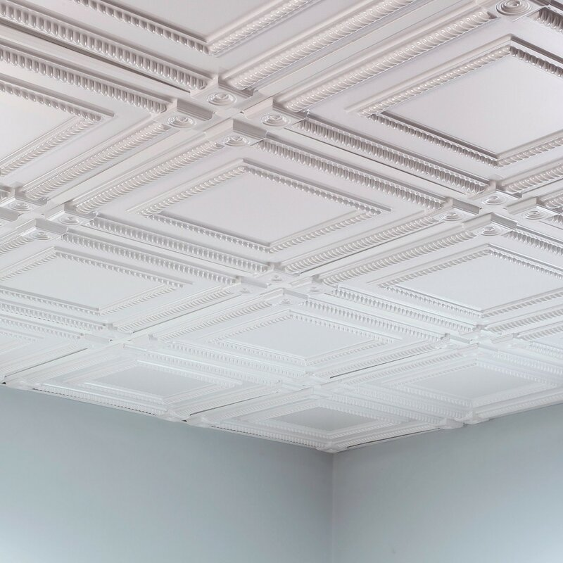 Install a Lay-In Coffered Ceiling