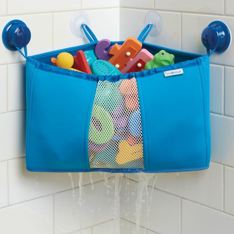 Minimize Clutter with a Bath Toy Holder
