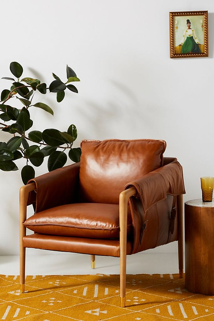 Compact Leather Seat