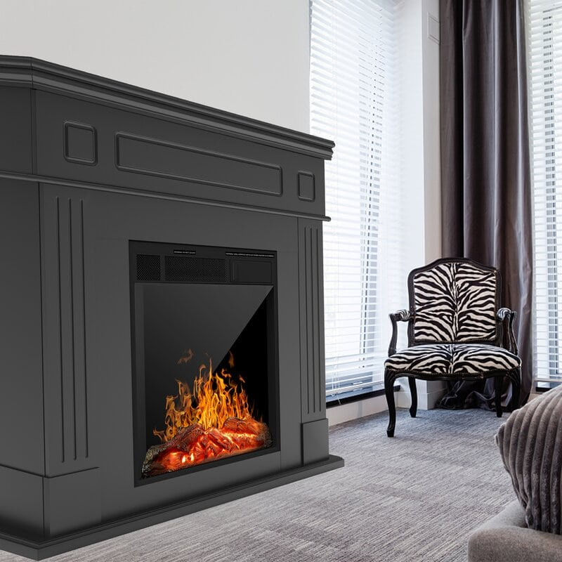 <strong>Modern and Minimalist Fireplace</strong>