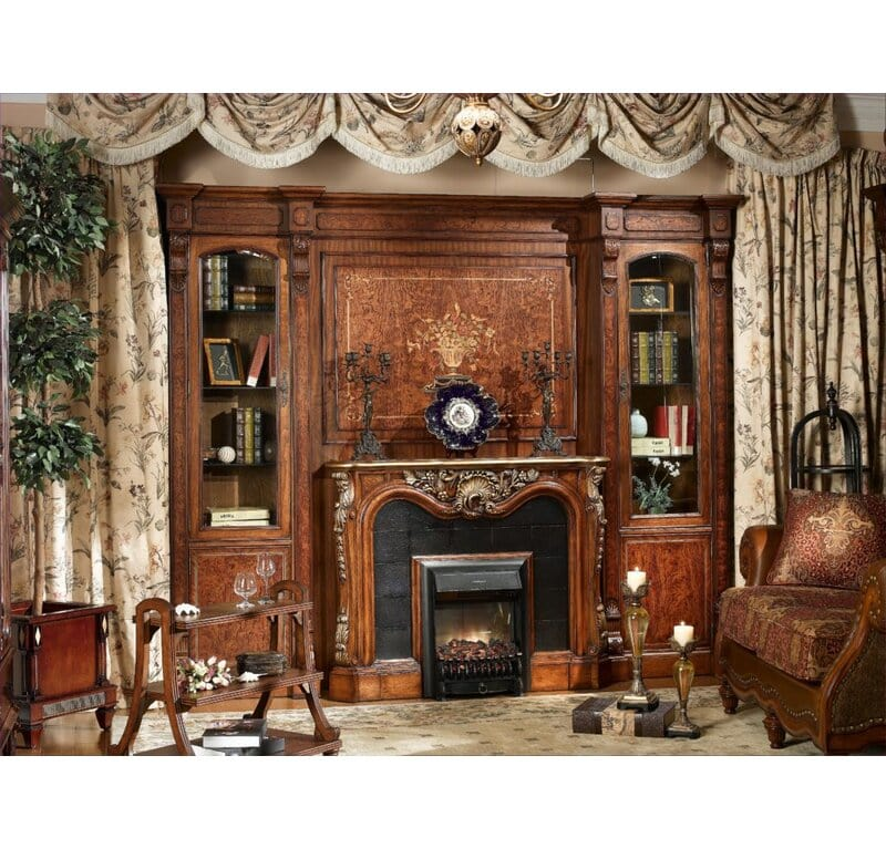 <strong>Try a Rich, Elegant Manor Estate Fireplace</strong>