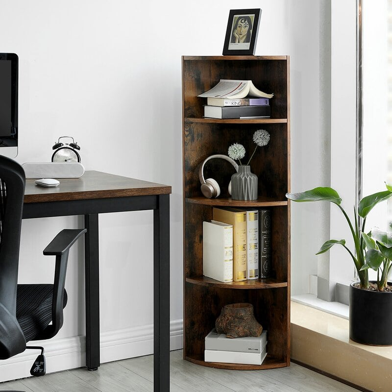 Weathered Floor Shelf
