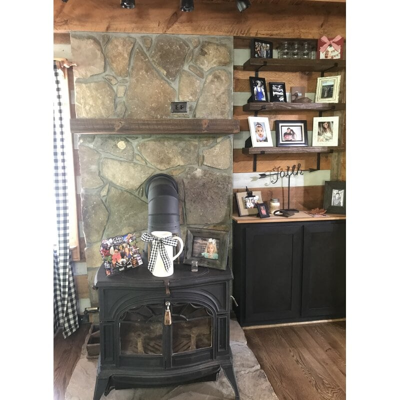 <strong>How About a Cozy Pot-Bellied Stove?</strong>