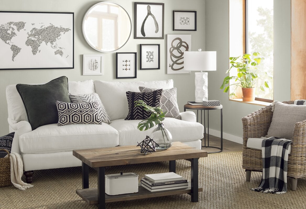 25 Ideas For Wall Decor Above The Couch