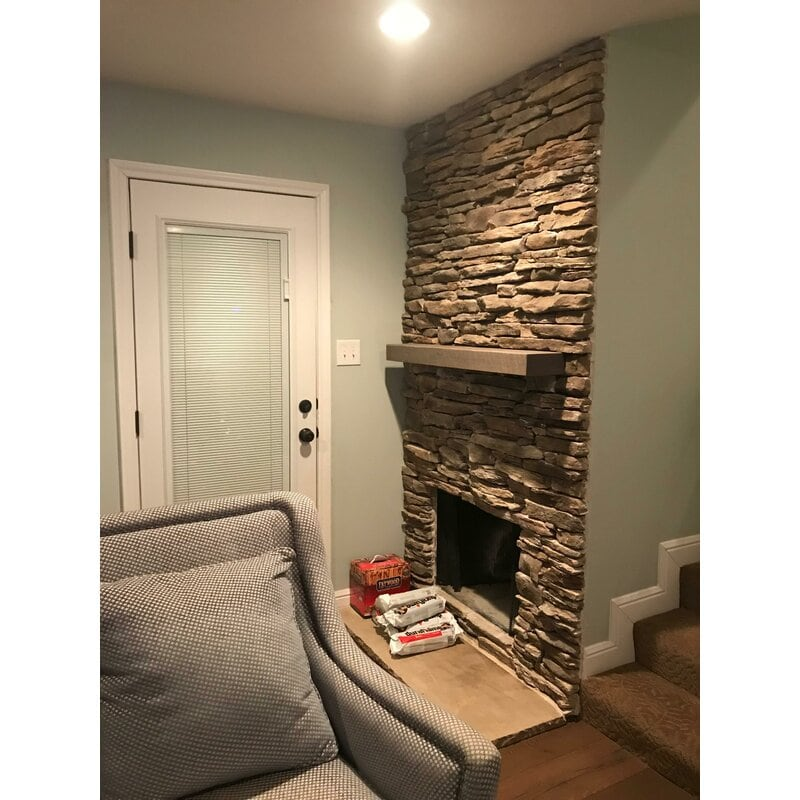 <strong>Patio Paver Turned Corner Fireplace Facade</strong>