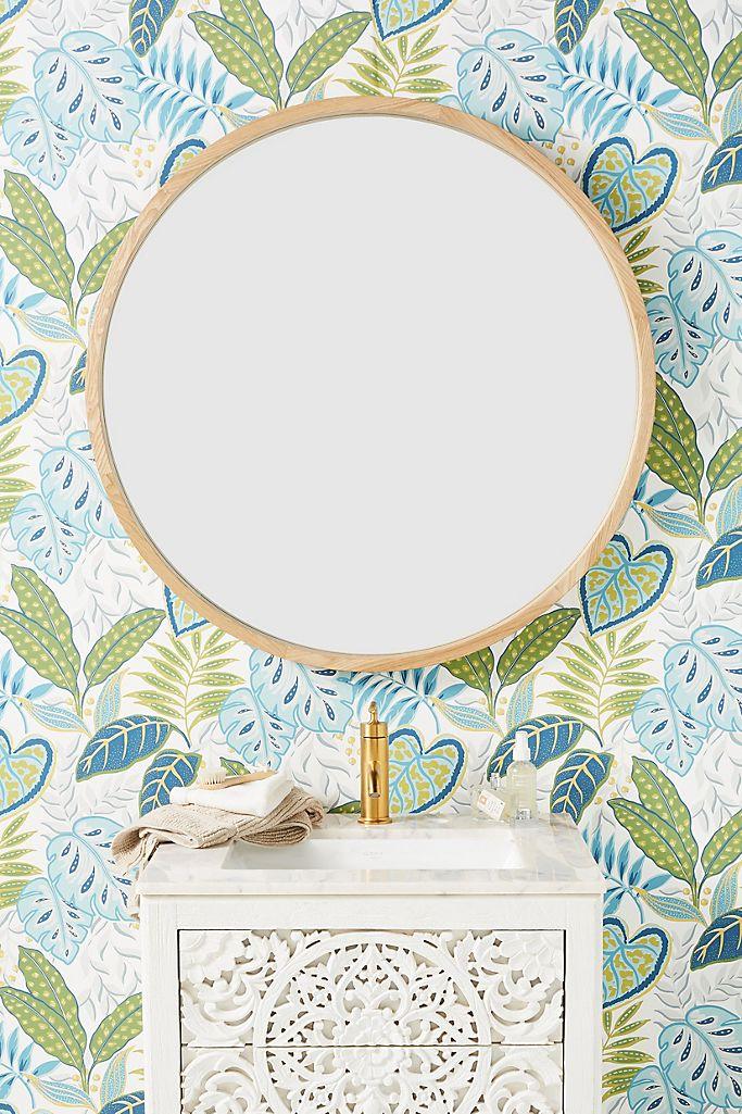 Hang a Round Mirror