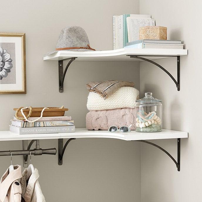 Curved Corner Shelf