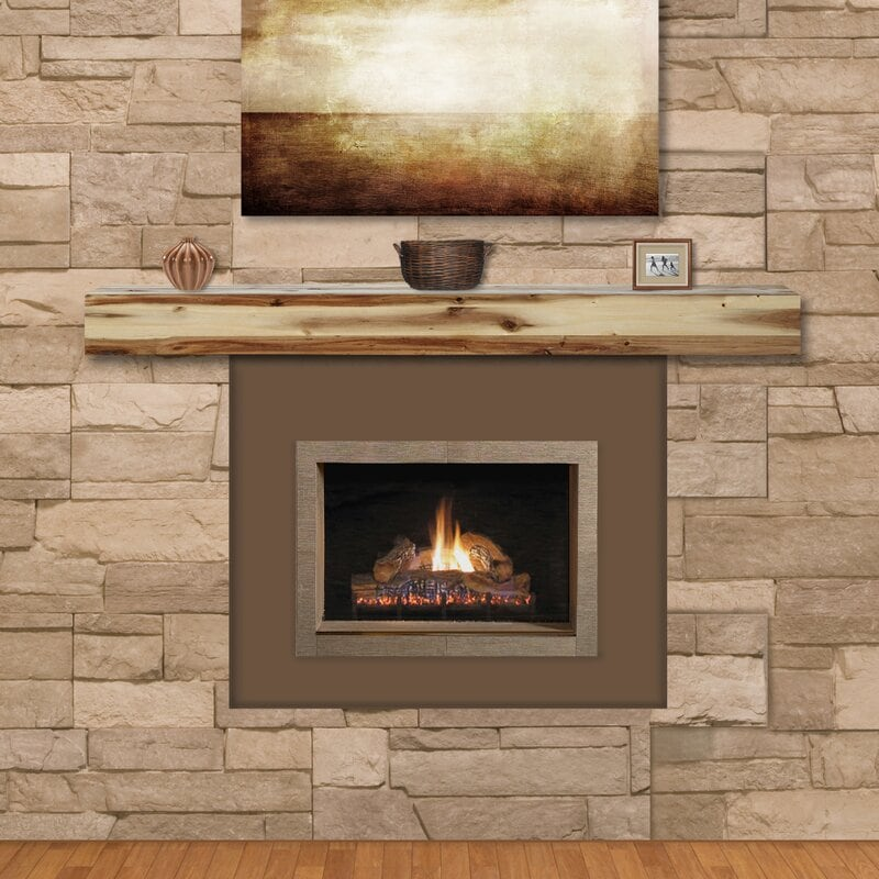 <strong>Try a Simple Recessed Fireplace</strong>