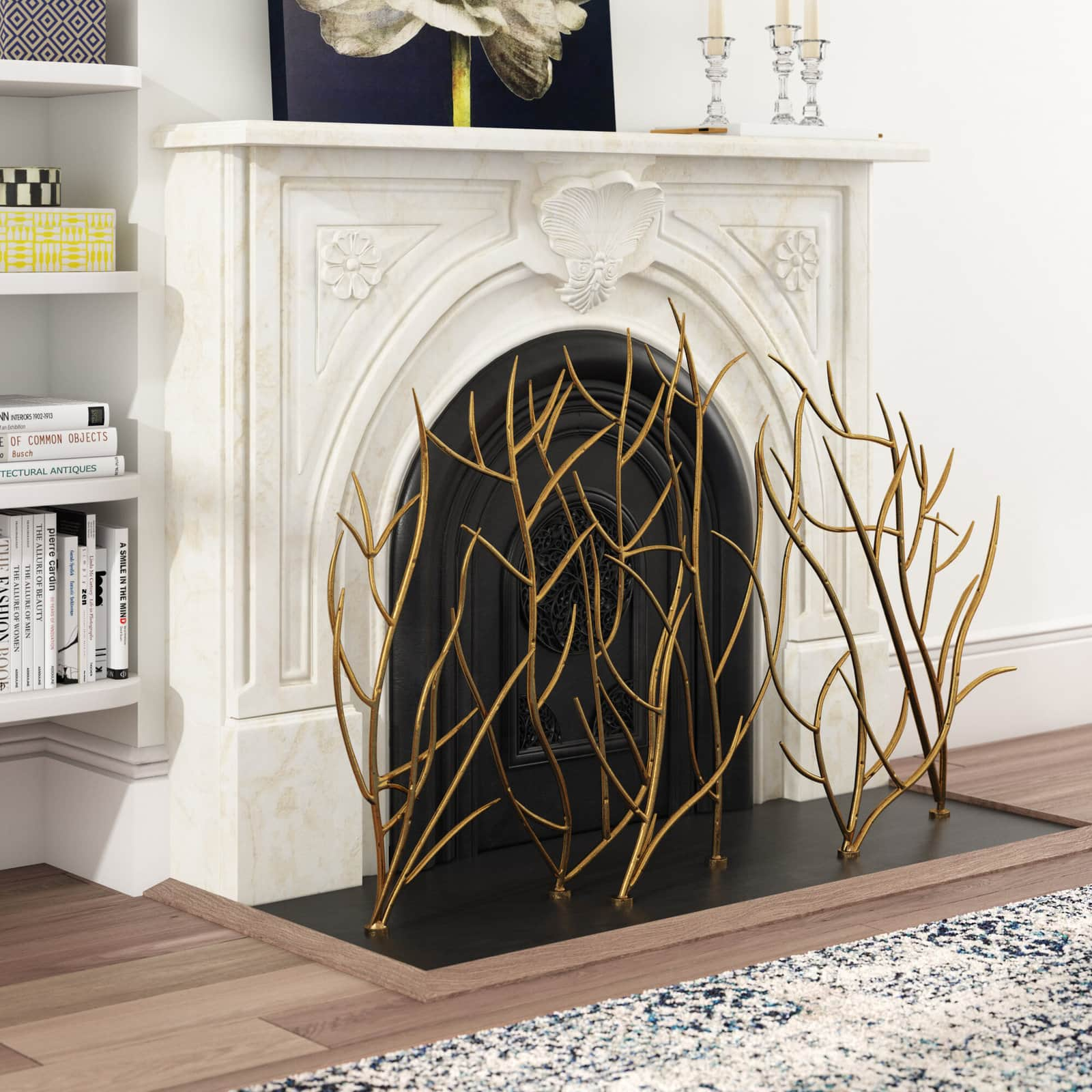 <strong>Upgrade Your Fireplace with a Unique Firescreen</strong>