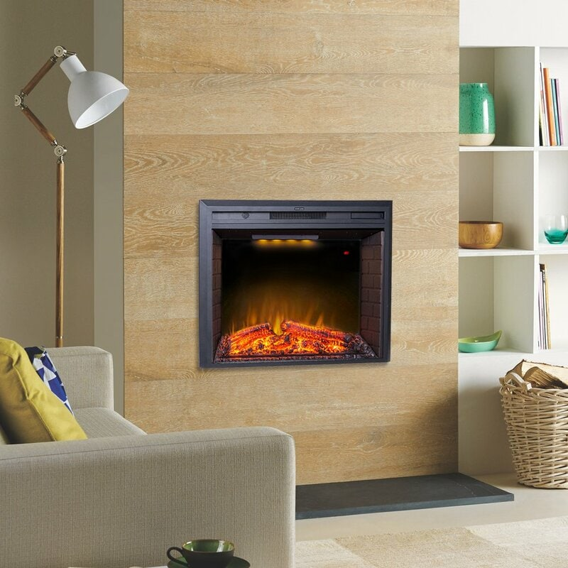 <strong>A Chic, Modern Wood Facade for Your Fireplace</strong>