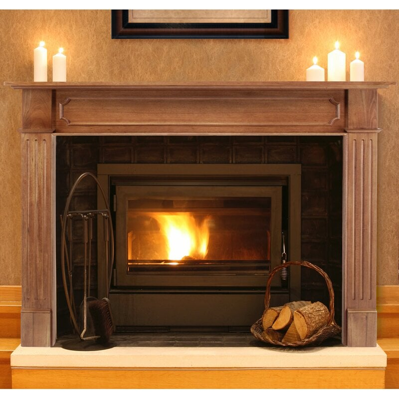 <strong>Get a Smooth, Classic Wood Fireplace Surround</strong>