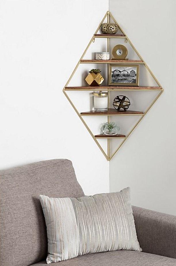 Multi-Level Diamond Shelf