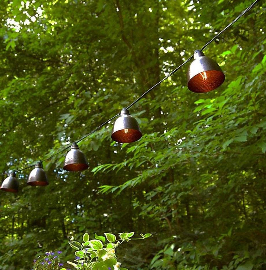 Bronze Cafe String Lights