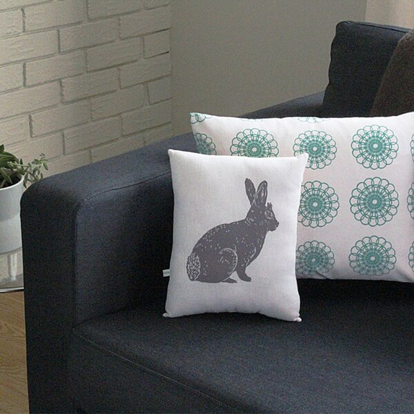 Add Some Whimsy With a Handmade Block Animal Print Accent Pillow