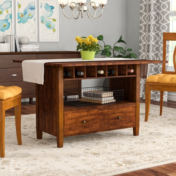 An Extendable Drop Leaf Table with Convenient Storage