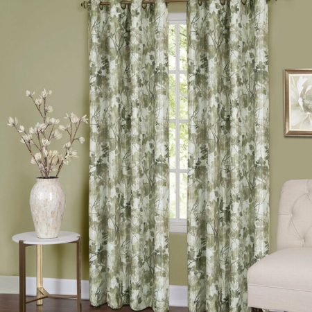 What Color Curtains go with Green Walls? 18 Ideas