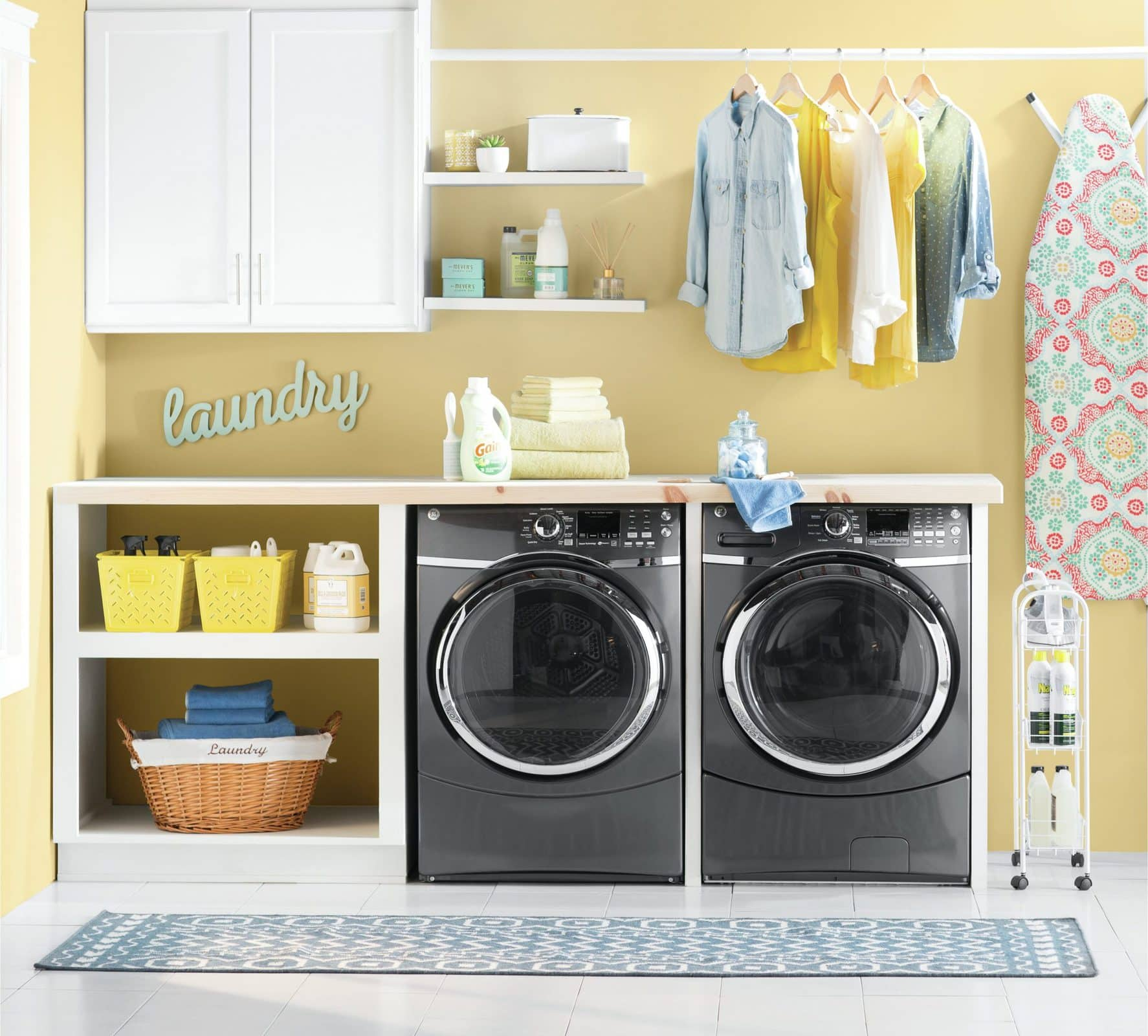 Laundry Room Finishing Touches