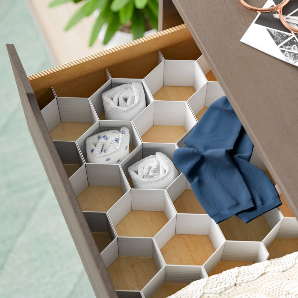 Drawer Dividers to Organize Dressers