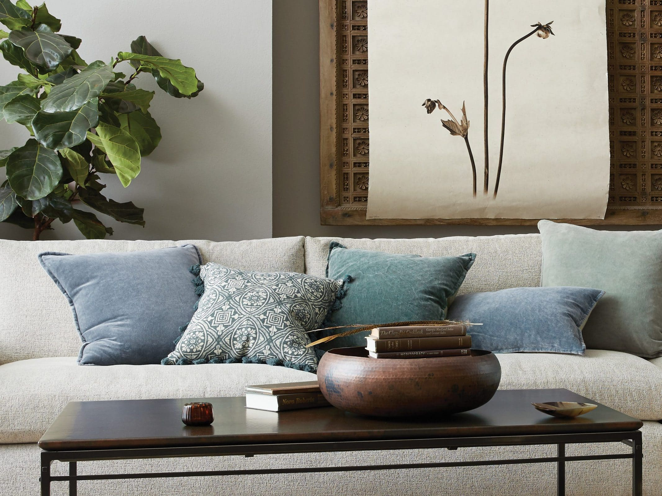 Get a Luxurious Look With Stone Washed Velvet Pillows