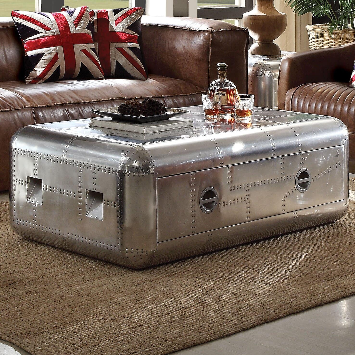 Incorporate A Cool Coffee Table