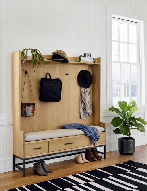 Choose A Bench With Storage Space