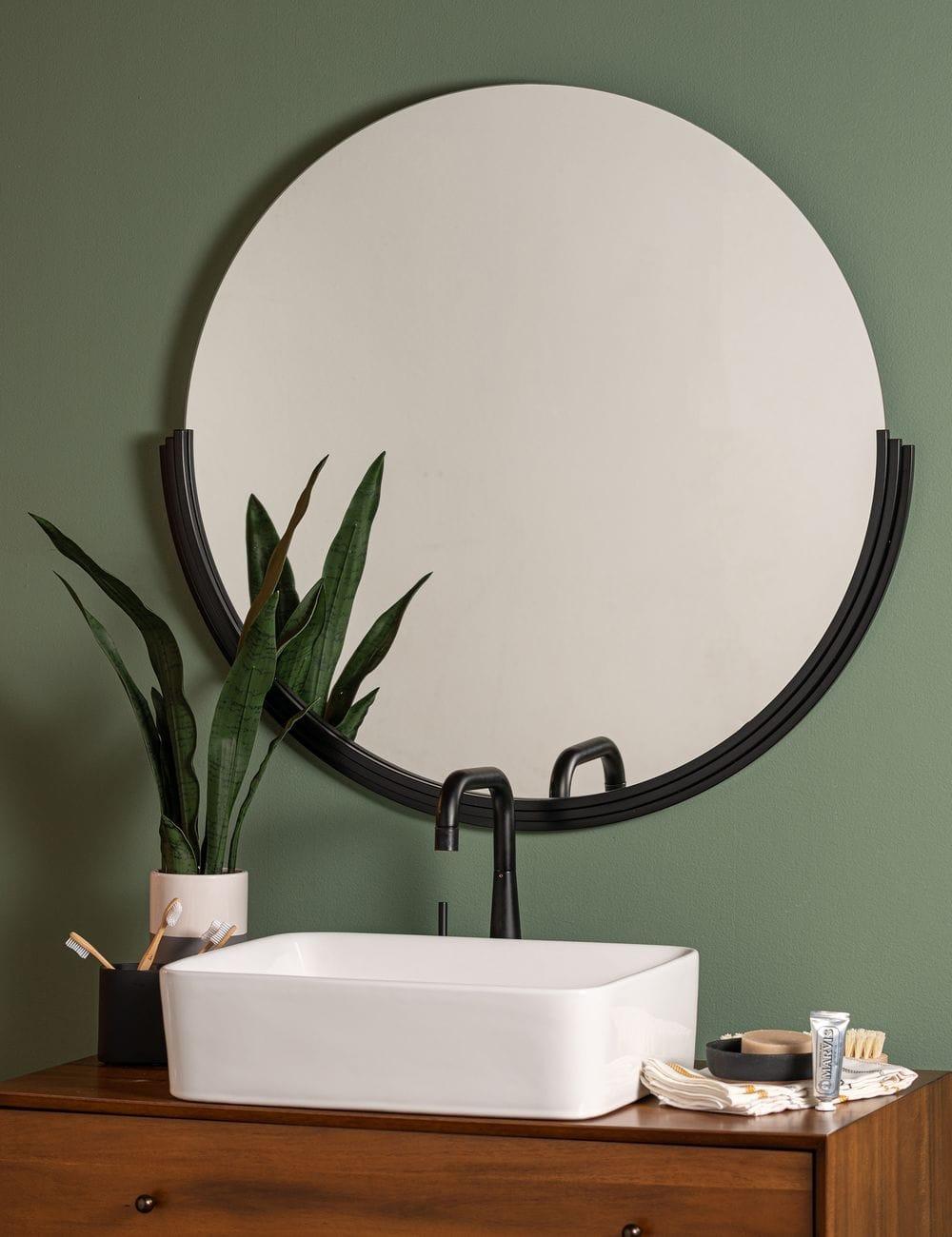 Coralie Round Mirror