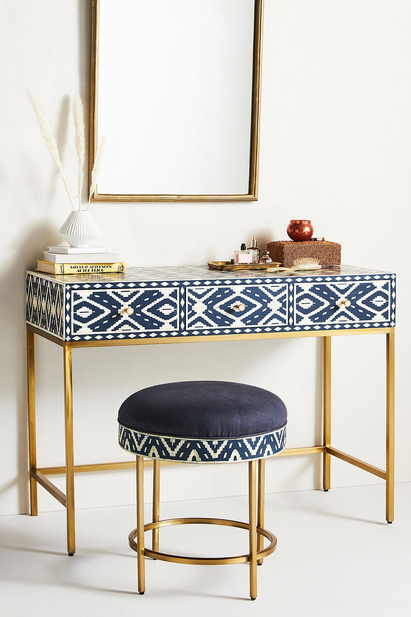 Get Creative With A Vanity Table
