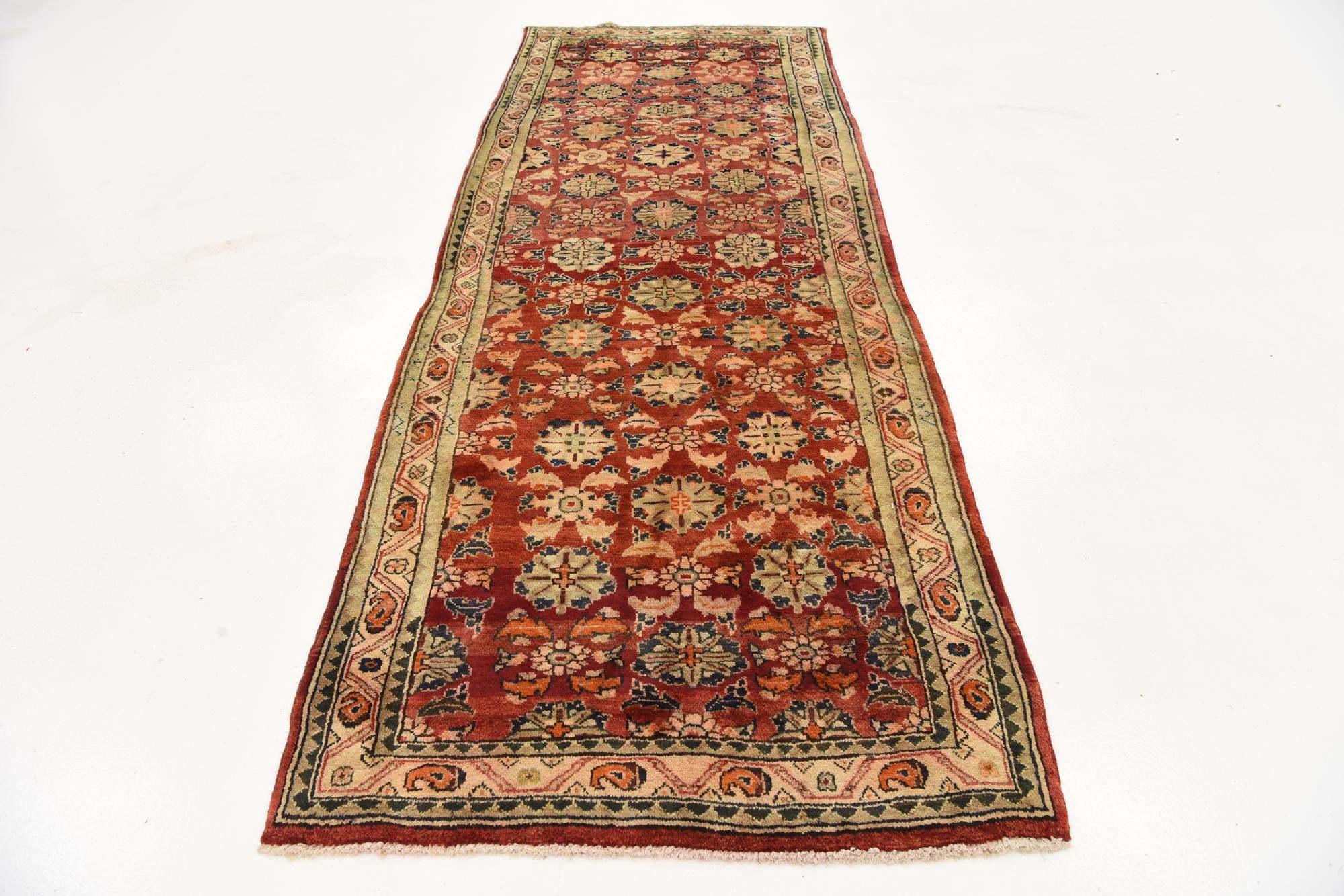 Antique Farahan Persian Runner