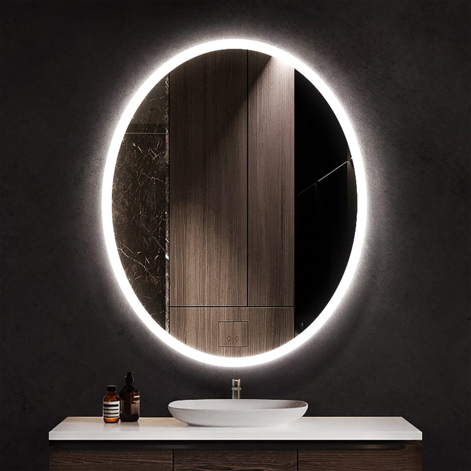 Baraboo Lighted Vanity Mirror