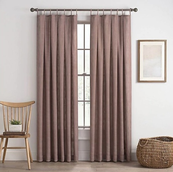 Light Filtering Lilac Curtains