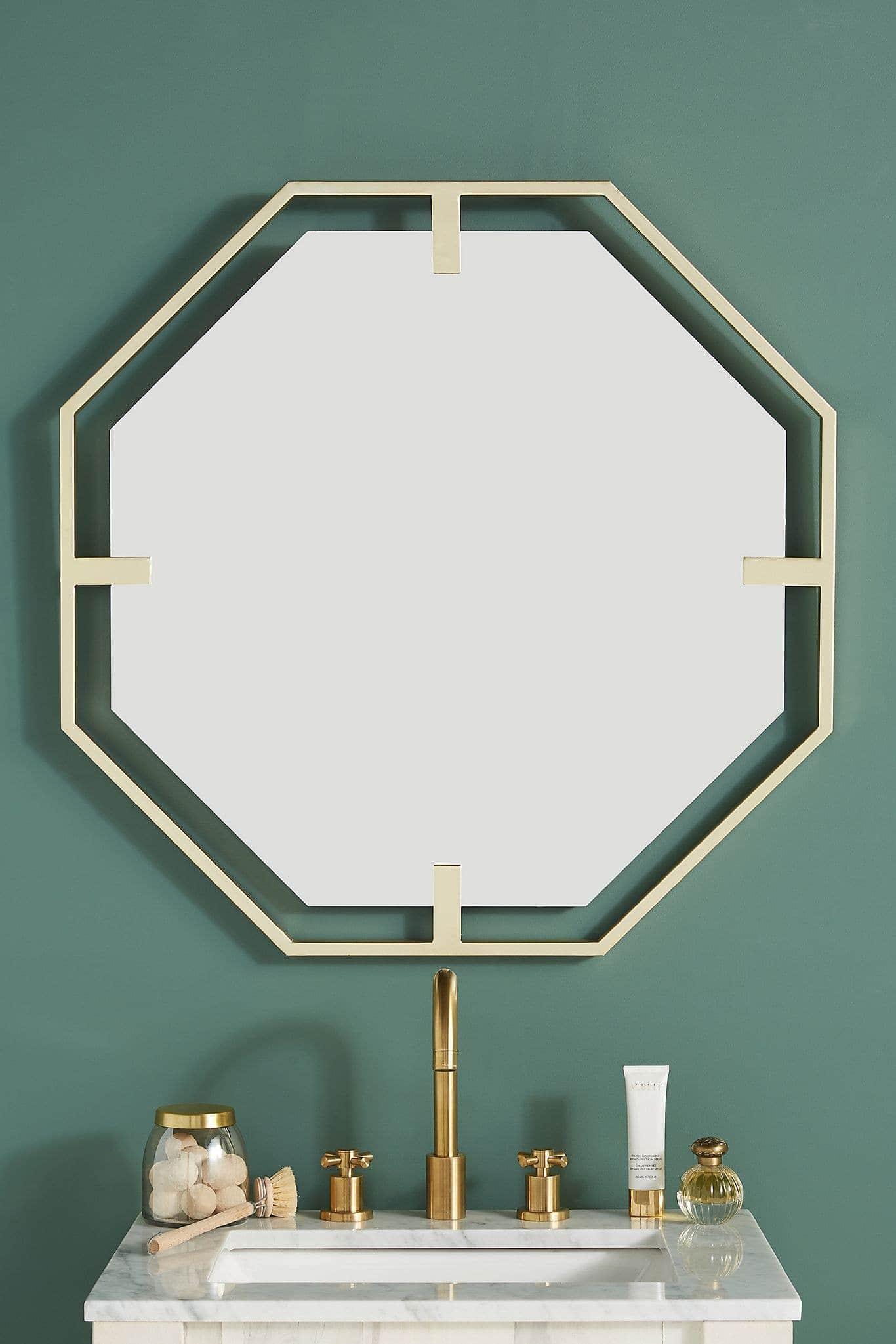 Melanie Octagon Mirror