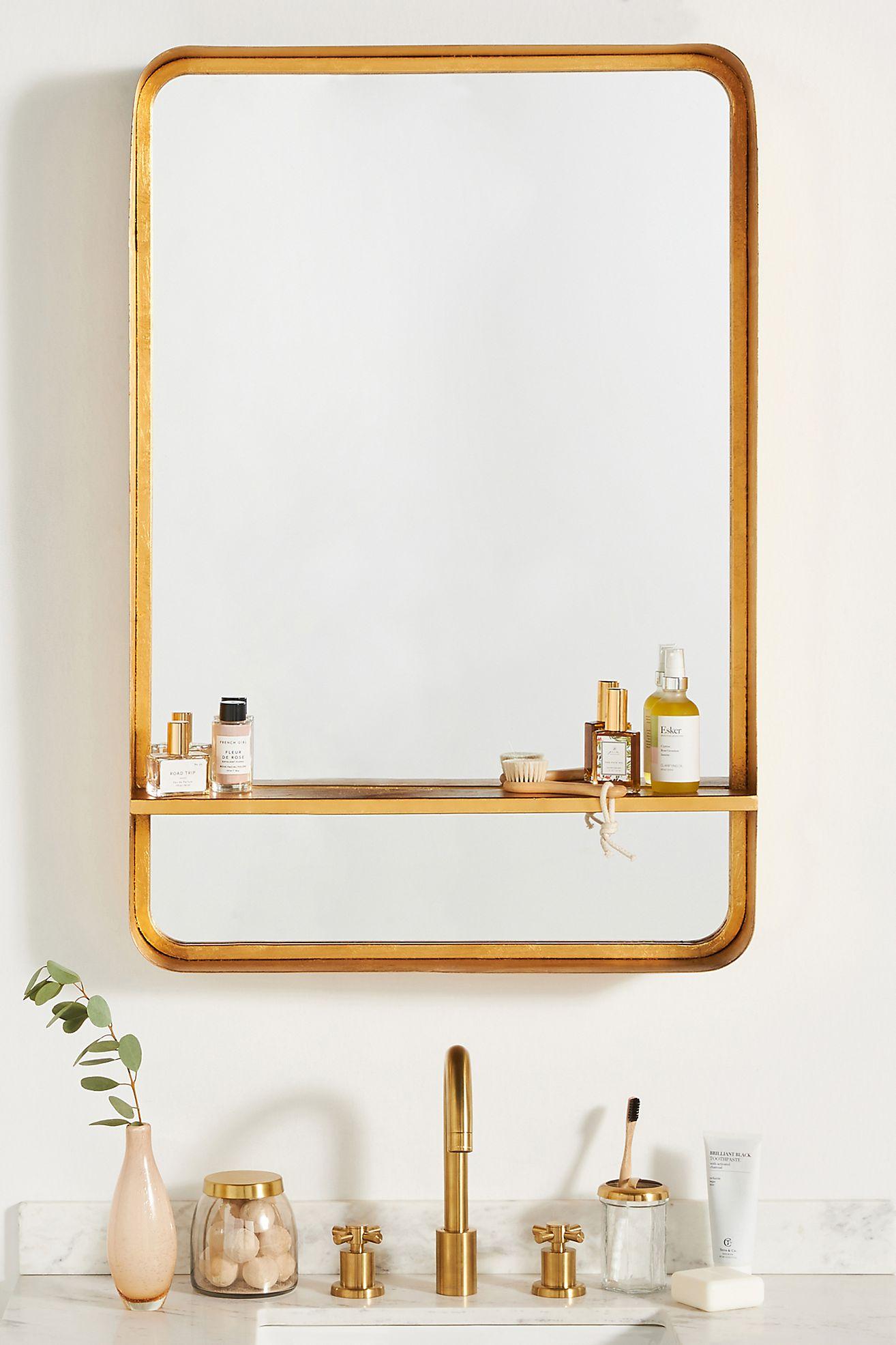 Bree Mirrored Shelf