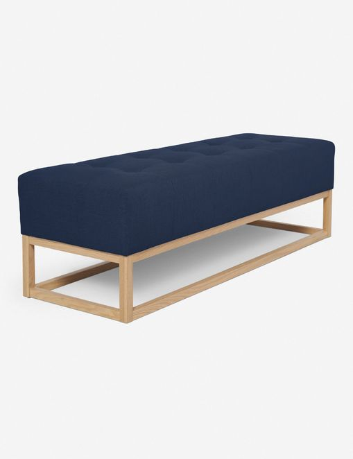 Pick A Bench With Colored Fabric