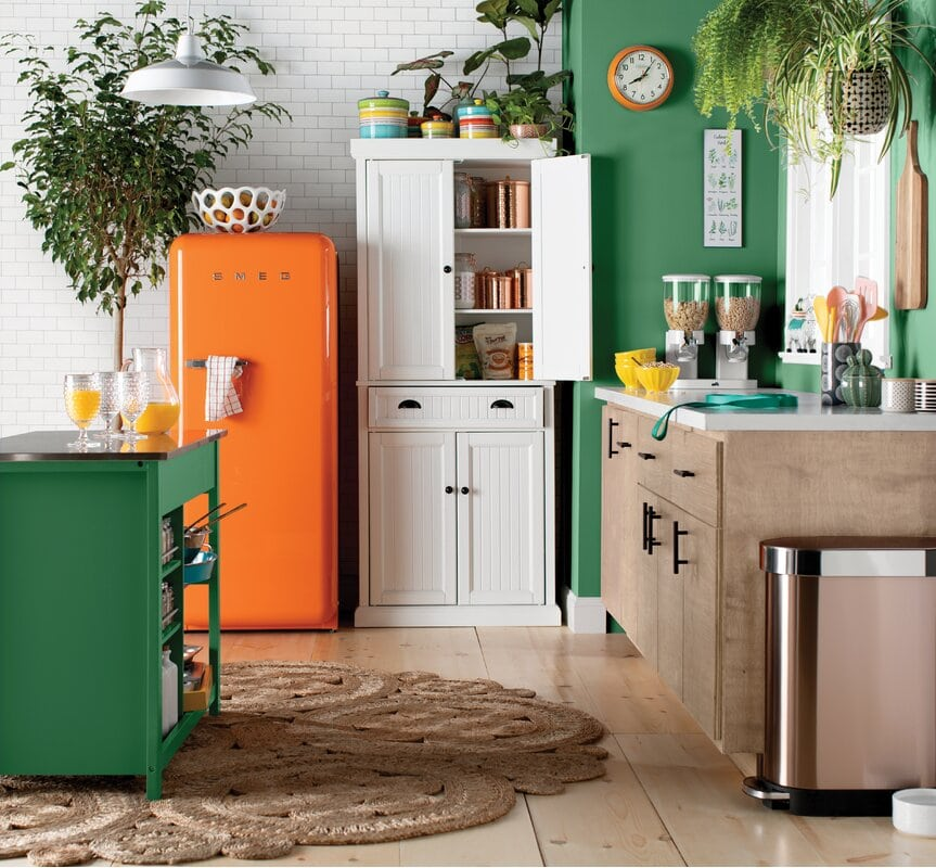 10 Above Fridge Cabinet Ideas & Alternatives