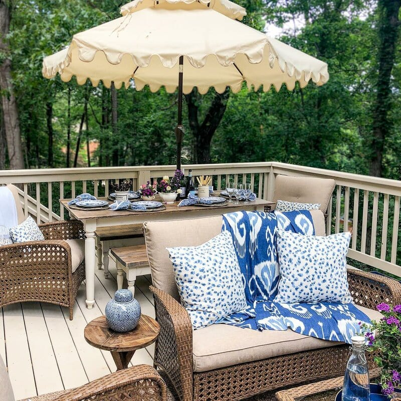Matching Deck And Railing