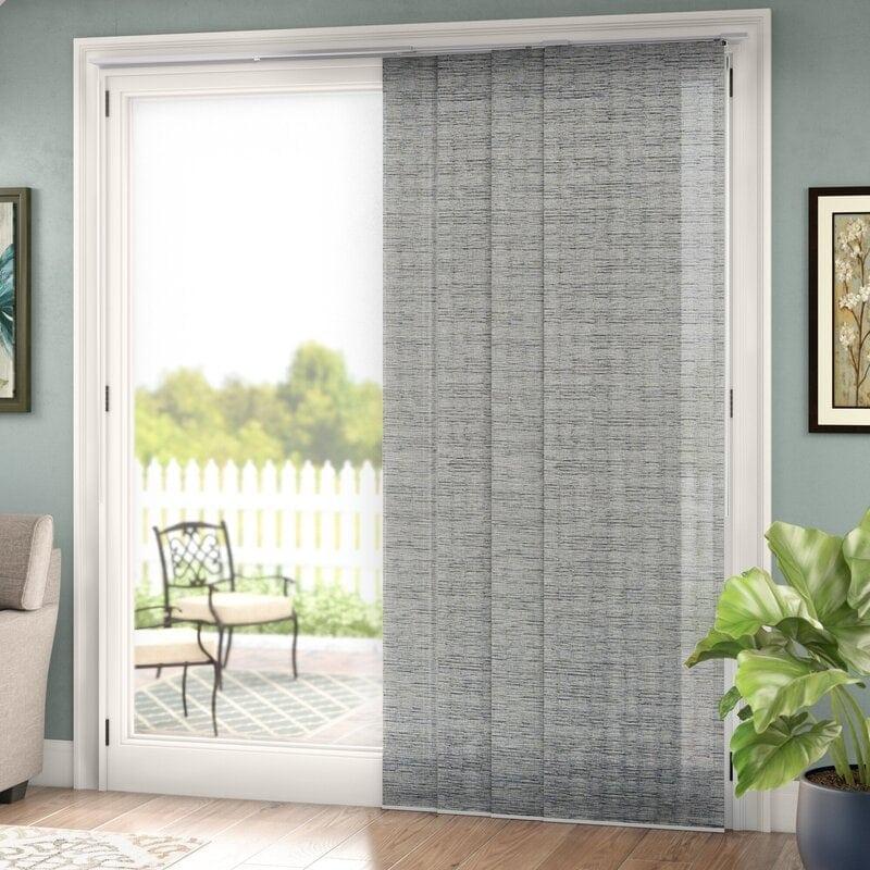 Grey Vertical Panels