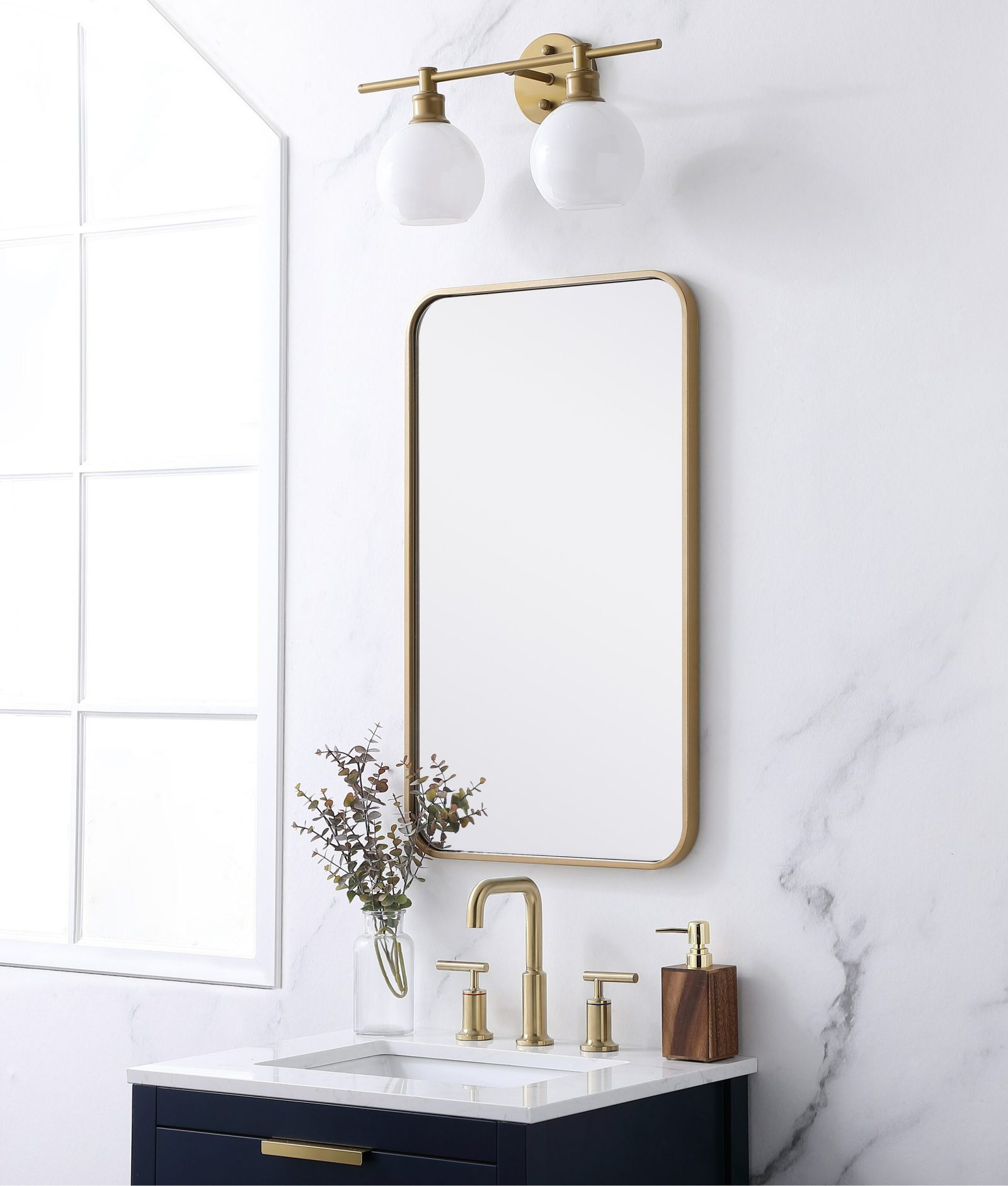 26 Beautiful Bathroom Mirror Ideas